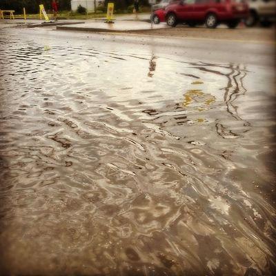 Byuiflood Rexburgflood Byui Rexburg flood finals crazy whatthe wtf noonesawthiscoming rain