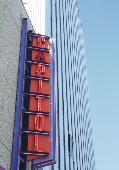 Capitoltheater Yellowknife, NT Cinema Check This Out Canada Northwestterritories Travel Photography Hello World ThatsCanada Sign