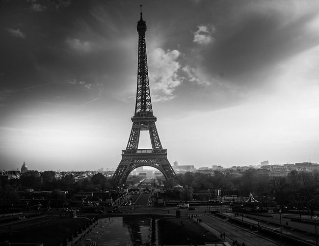 Tower Architecture Built Structure Tall - High Travel Destinations Sky City Monument Tourism City Life Travel Outdoors Cloud - Sky No People Tall Building Exterior Day Cityscape Tree Eiffel Tower Eiffeltower Eiffel_tower