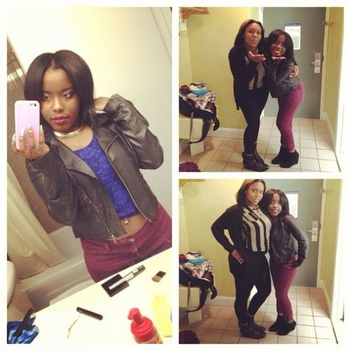 Me And My Bestfriend On Her Birthday