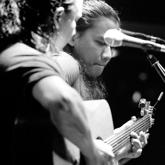 Muzza and Shahrin, on acoustic guitars for their rock kapak performance at the Online Pub, Kuala Lumpur. Hanging Out Portraits2015 Rockkapak M43 Kuala Lumpur Malaysia  Olympus OM-D E-M5 Mk.II The Week On EyeEm