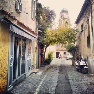 Sainttropez France Provence Harbour street