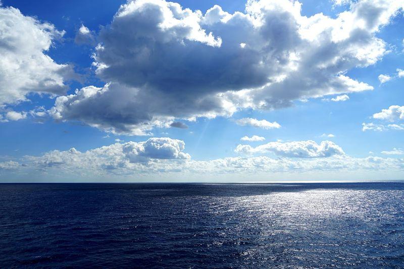 On the sea Sea