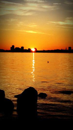 Sunrise on the Ottawa River