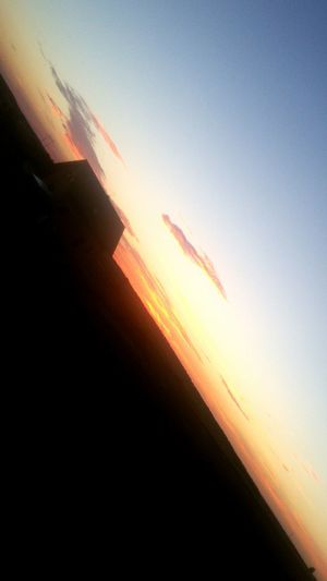Outdoors No People Sunset Nature Sky Airplane Beauty In Nature Day