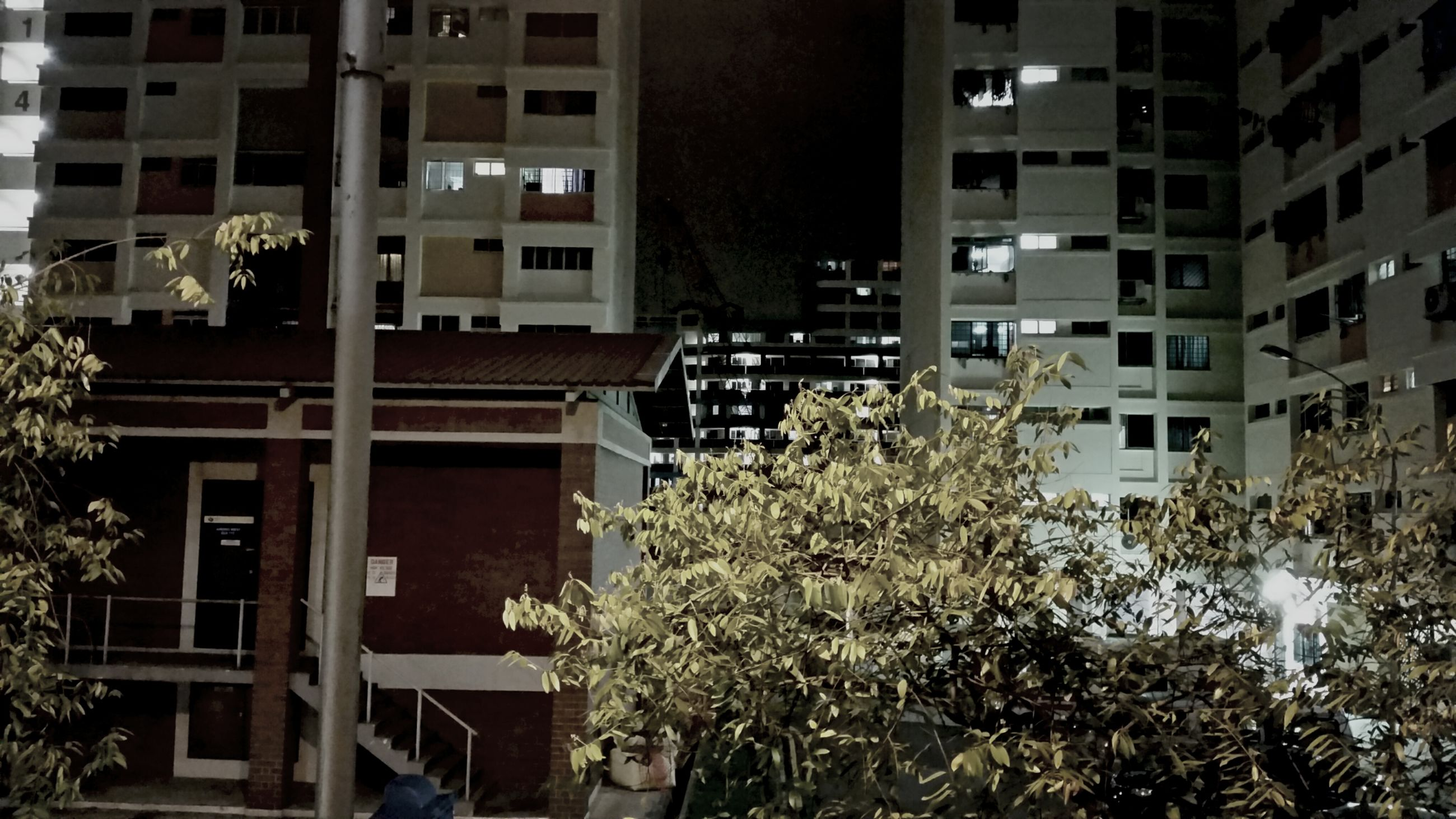 building exterior, architecture, built structure, residential building, city, building, residential structure, window, tree, apartment, low angle view, house, balcony, day, outdoors, city life, exterior, no people, residential district, facade