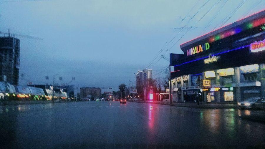город челябинск  рассвет утро пасмурно Погода дождик Дорога покатушки красная бестия думки Время приключений