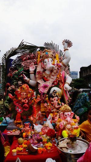 Bye Bye Ganesha GaneshChaturthi Indian Festive Season Visarjan_diaries Comeback Nextyearagain Love U