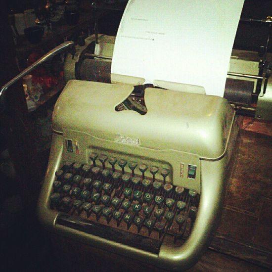 Benim daktilom Typewriter Daktilo Gfarukunal
