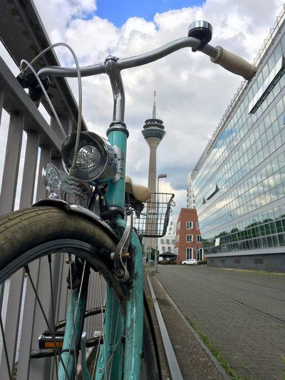EyeEm Selects Rhein Rheinturm  Düsseldorf Hafen Fahrrad Architektur