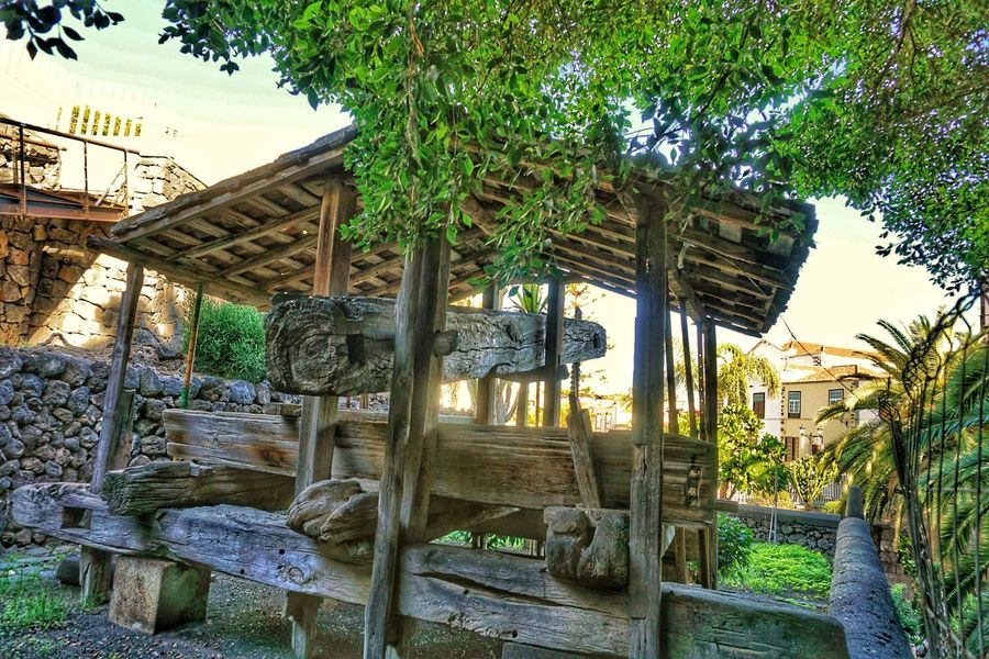 Historical Monuments Winepress Tenerife