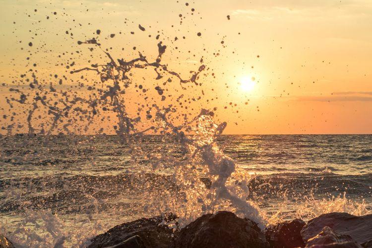 Sunset Sea Sun