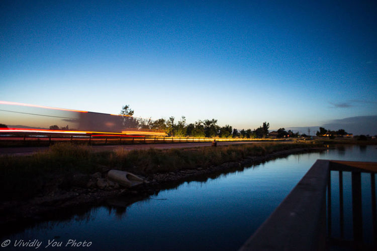 Truck passing Taking Photos Water And Sky Travel Photography