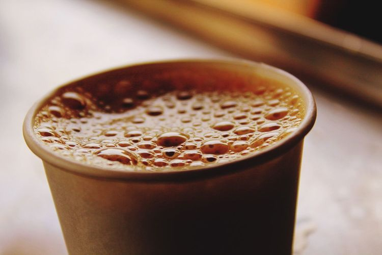 Close-Up Of Drink In Cup