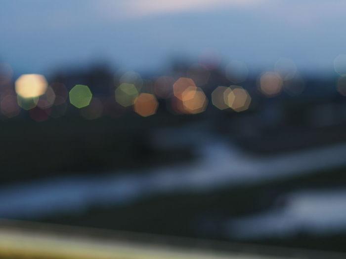 多摩川 Tamariver Taking Pictures Relaxing Bokehlicious Nikkor.sc Auto 50mm 1:1. 4 Bokeh Bokeh Photography Oldlens Nikkor Nikon Taking Photos Signal Talelamp Headlight 七角形 Seven