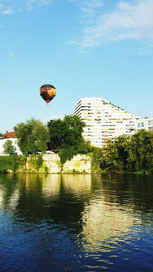 Ulm, Germany, Schwörmontag, Ulm Schwörmontag Donau Ballon Balloon Relaxing Swimming