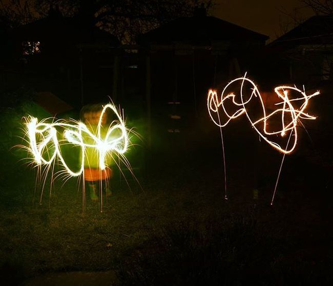 Just for fun..found a packet of sparklers on top of the cupboard so dragged the kids out in the garden! Igersmersey Sparklers Longexposure FamilyTime Light Sparkler Nightlight Sonyphotography Sonycameras SonyA5000 Sonyimages