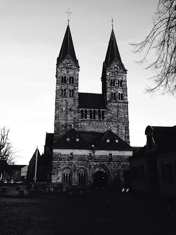 Dom Sankt Peter in Fritzlar , Germany Deutschland Cathedral Church Kirche ドイツ Blackandwhite Black & White