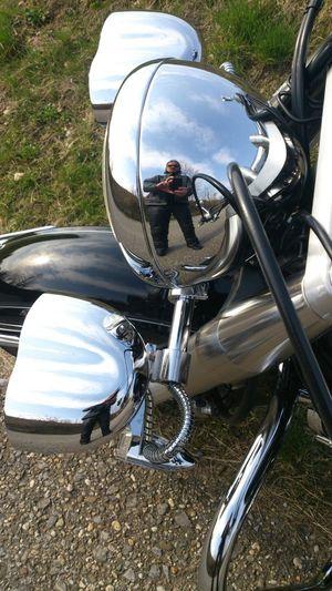 That's Me Selfie Spiegelung Motorrad Motorcycles Motorcycle Scheinwerfer März2015