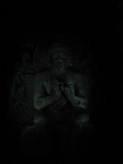 Ajanta Caves Ancient Art Buddha Statue Carving History Old Sculpture Statue First Eyeem Photo