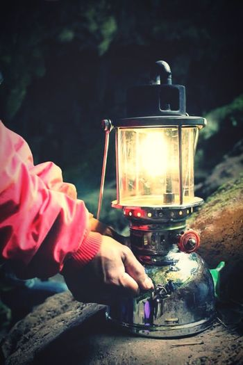 Lamp Guide Discovering Great Works Leisure Activity Burning Sumaguingcave