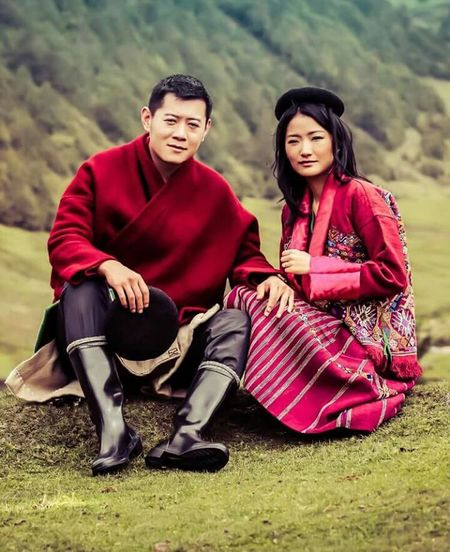 His Majesty and Her Majesty in a Eastern Bhutan dress... In Merak sakten one of the remotest part of Bhutan! Love Our King Check This Out