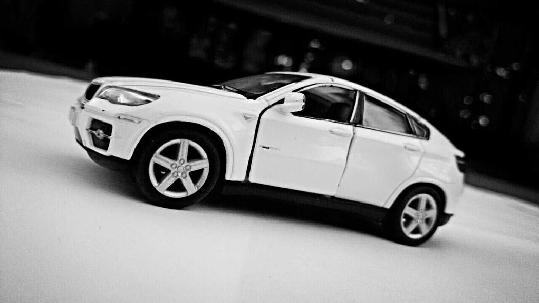 Toy Car Small Car Blackandwhite Photography