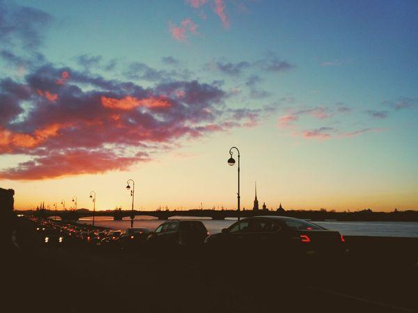 Saint-p Sunset Cityscapes