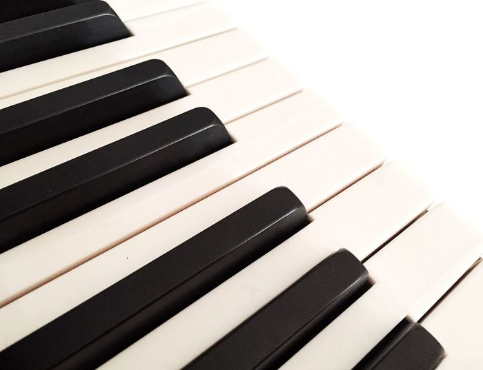 Piano Piano Keys IPS2016White Blackandwhite Minimalism Black And White IPhoneography TakeoverContrast Piano Moments Music Musical Instrument Arts Culture And Entertainment Close-up Musical Equipment No People Piano Key