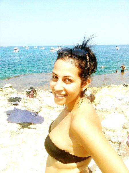 Cala Bianca Sicily Castellammare Del Golfo Summer ☀ Simply Me 😁👙🌊😎