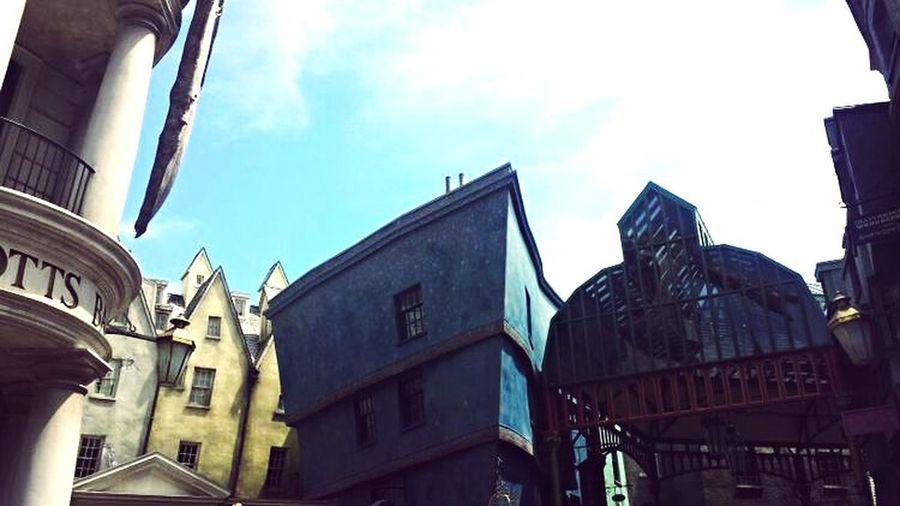 Hogwarts Universal Studios  Harrypotter Gringotts