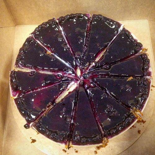 01/05/2016 Purpleoven Blueberrycheesecake Cheesecake Cake Freetreats Freetreatsfromtheboss