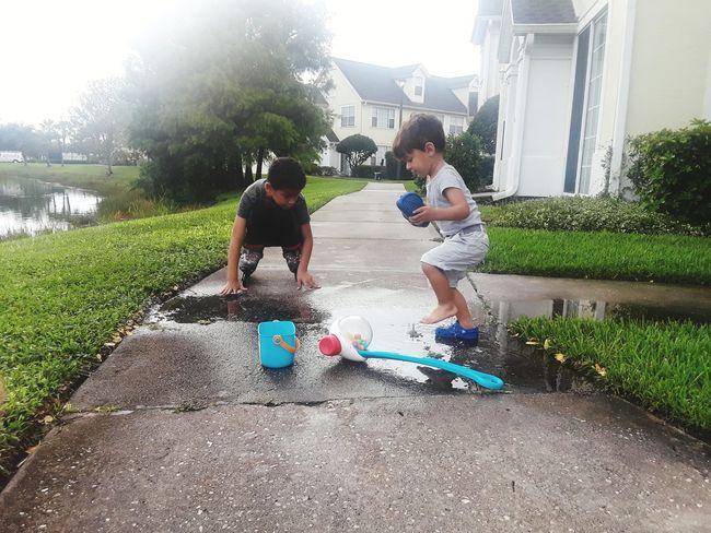 Enjoying Life Brothers Playing Family❤