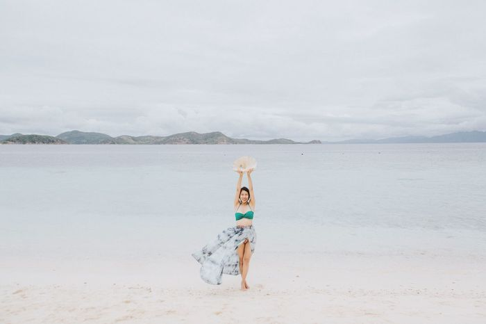 Seashell by the seashore! Tranquil Scene Fun In The Sun Relaxing Moments Philippine Beaches Happy People Traveler Beach Bum Mermaid Pacific Ocean Seashells Travel Destinations Beach Life Beach Babe Vacation Destination Palawan Coron, Palawan Philippines Beach Land One Person Water Sky Sea Full Length Nature Scenics - Nature Sand Beauty In Nature