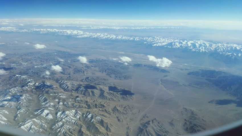 Road to Japan.. Traveling Sister Japan Flight ✈ Taking Photos Ilikeit Clouds And Sky Mountains Desert Beauty