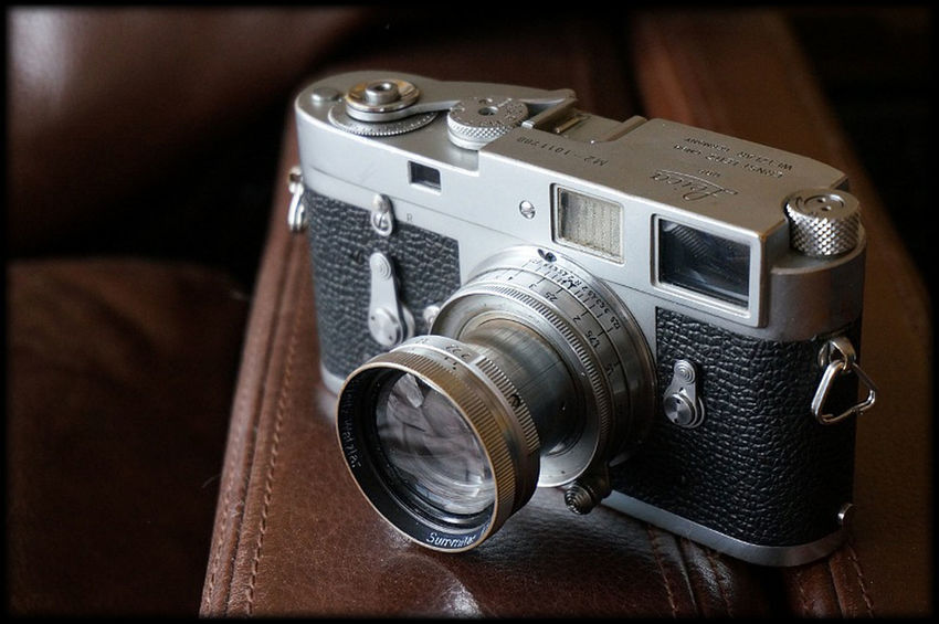 50mm Lens Decisive Moment Magnum My Old Leica Rangefinder Reportage Summitar Travel Photography