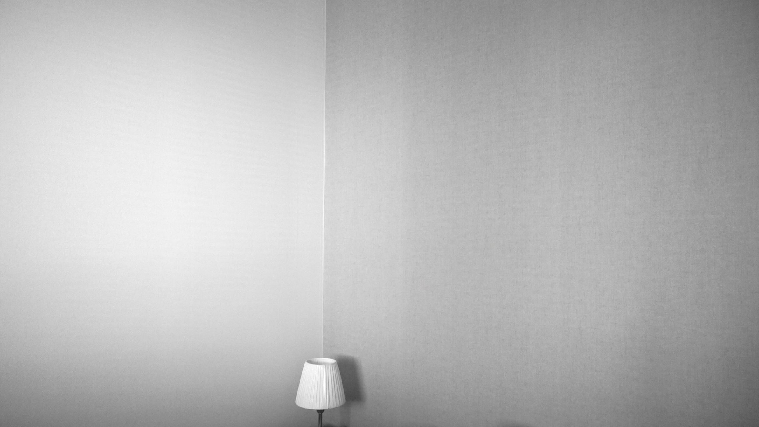indoors, wall - building feature, copy space, home interior, wall, white color, still life, no people, white background, built structure, architecture, white, simplicity, studio shot, close-up, lighting equipment, curtain, window, domestic room, hanging