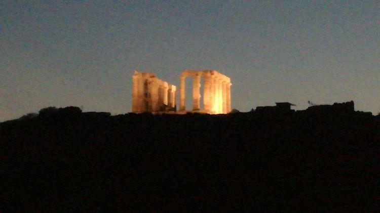 Architecture History Ancient Architectural Column Ancient Civilization Sky