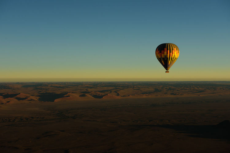 Hot Air Balloon Landscape Landscape_Collection Landscape_photography Namib Desert Namibia No People Sunrise Warm Colors