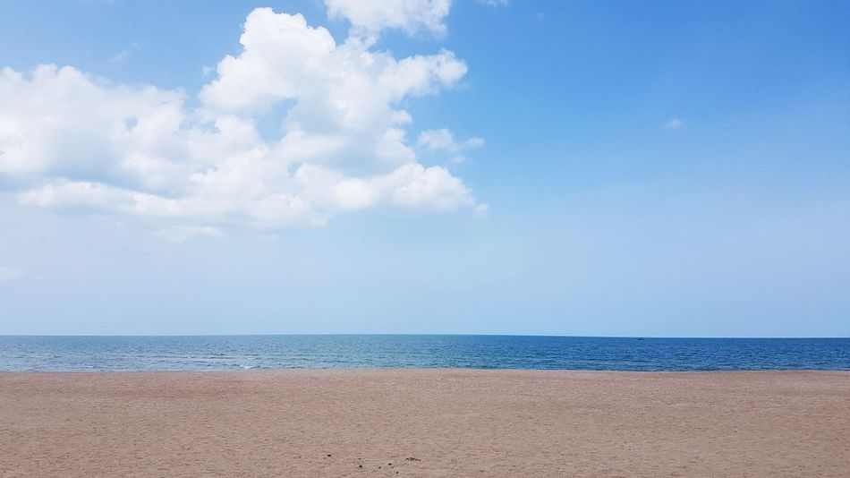 #clouds  #Nature  #travelphotography #sea #lovesea #sky #beach #journey #photography #sand #beautiful Water Sea Beach Blue Sand Multi Colored Summer Wave Relaxation Sunny