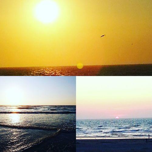 Sea Horizon Over Water Sunset Water Scenics Beauty In Nature Nature