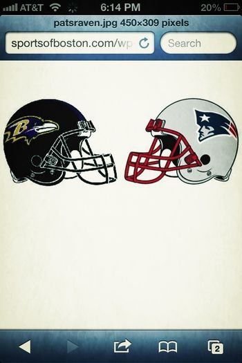 About To Watch The Ravens Game