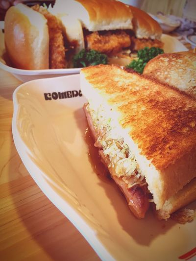 Sandwiches Coffee CoffeTime Cafe Komeda's Caffe