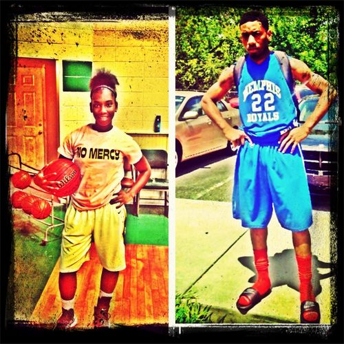 Me N Mi OlDer BrOtha N OuR BbAll GeAr