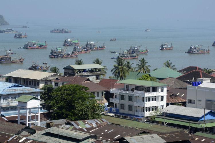 FISHING BOATS IN MYEIK, MYANMAR