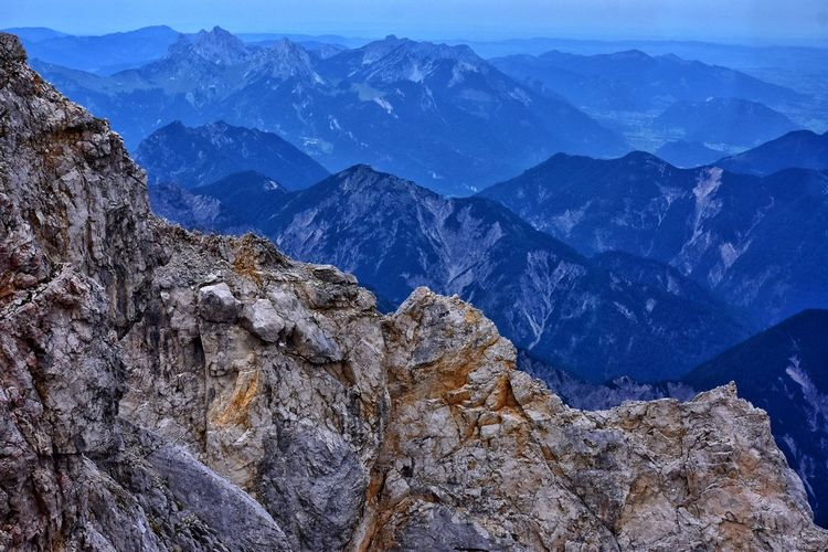 alps seen from