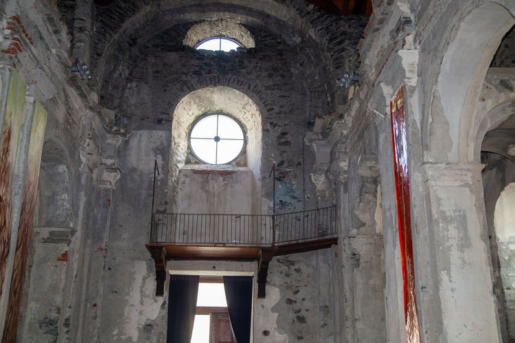 Interior of old historic building