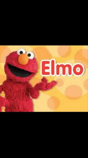 I Love Elmo .!