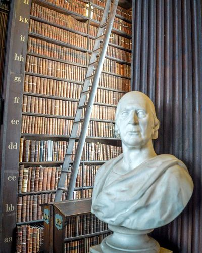 Trinity College Bibliotheque Library Books A Lot Of Books  Astonishing Dublin Ireland Eire Summer Hollidays Getty Museum