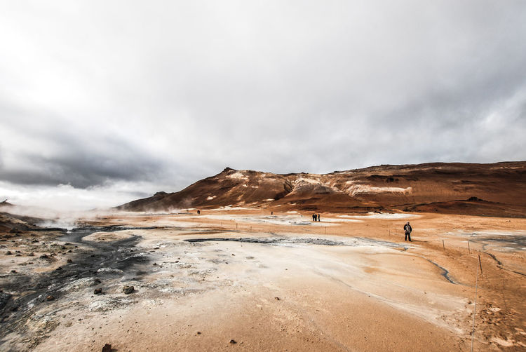 Iceland Adult Adventure Beauty In Nature Cloud - Sky Day Exploration Full Length Landscape Men Mountain Nature One Man Only One Person Only Men Outdoors People Real People Scenics Sky Standing Tranquility Travel Destinations